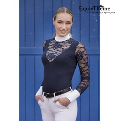 Polo Equi Theme Dentelle
