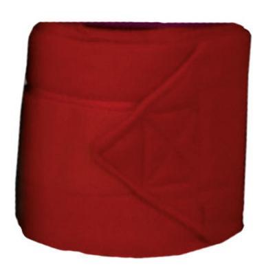 Bandes de polo HKM rouge 300 cm