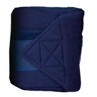 Bandes de polo HKM bleu foncé 300 cm