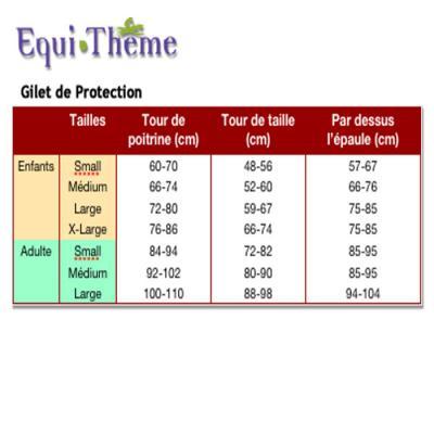Gilet de protection Equi-thème adulte3