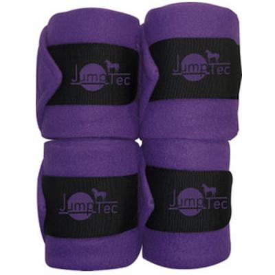 Bande de polo JUMPTEC Cheval violet noir