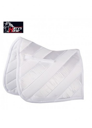 Tapis de selle Harry s Horse BLIZZARD - blanc