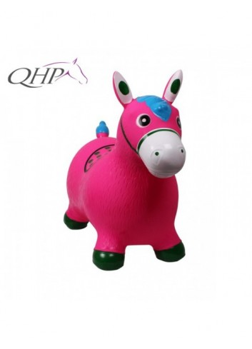 jumping Horse QHP - rose