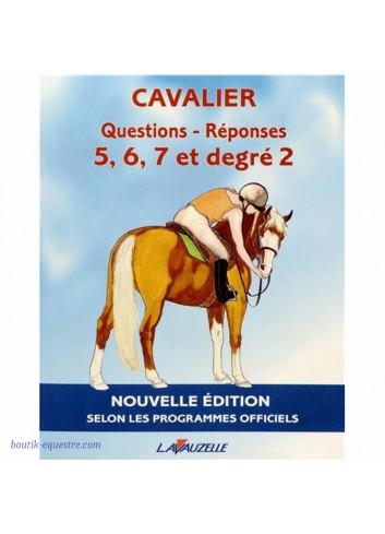 Livre Lavauzelle QR Cavalier 5-6-7