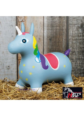 Nooni Skippy Unicorn - bleu