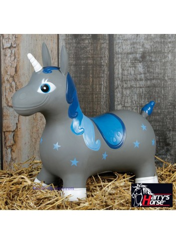 Nooni Skippy Unicorn - gris