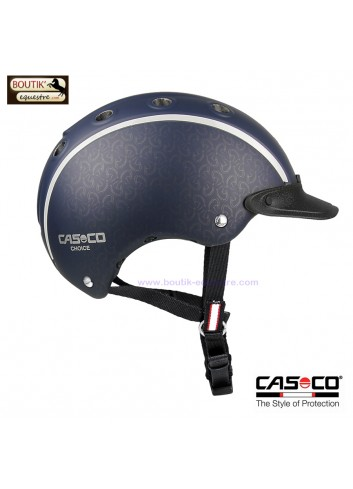 Casque équitation CASCO Choice jr - marine