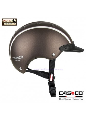 Casque équitation CASCO Choice jr - marron