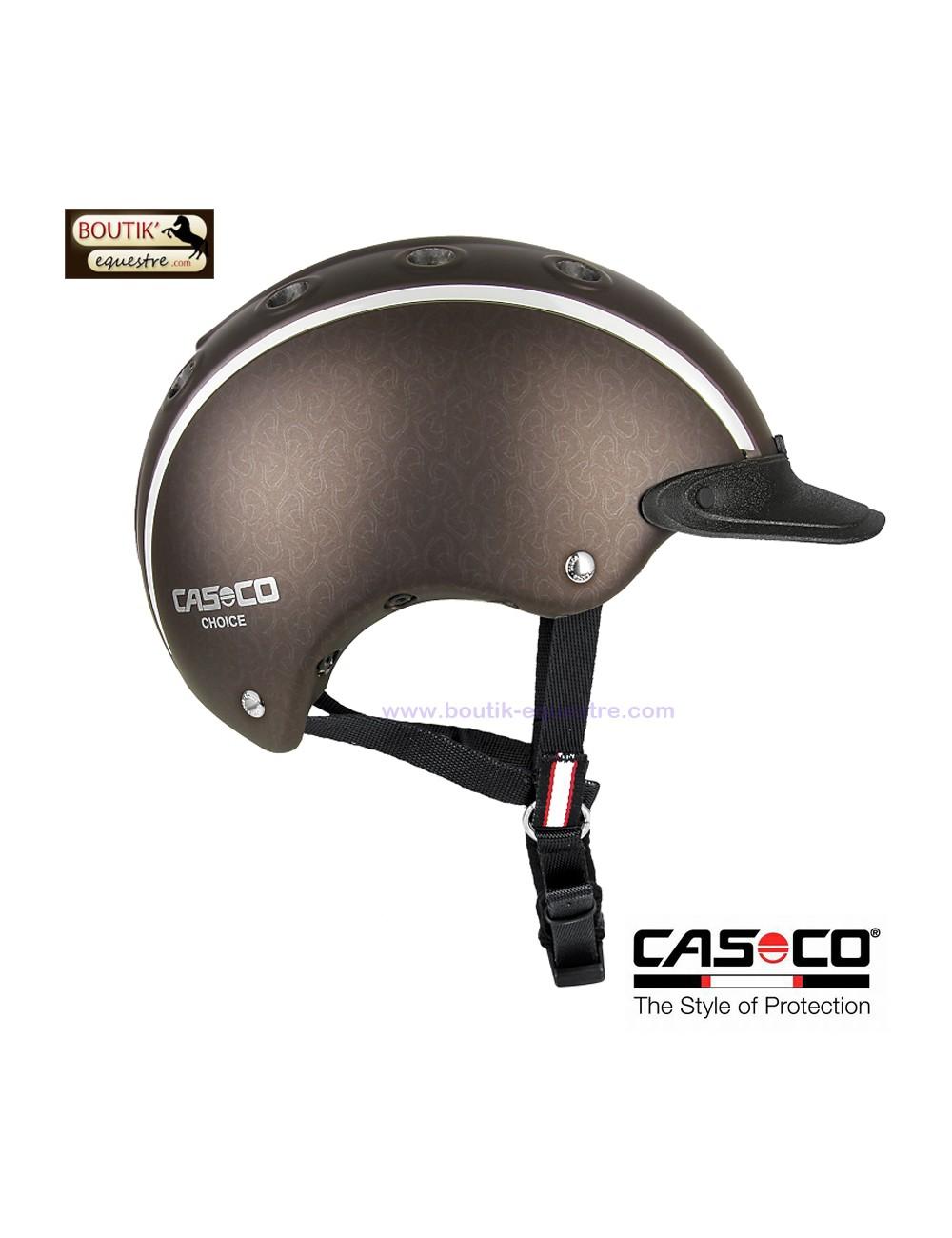 Casque équitation CASCO Choice jr