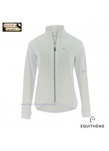 Veste EQUIT M  Micro Softshell femmes - blanc