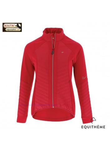 Veste EQUIT M  Micro Softshell femmes - rose
