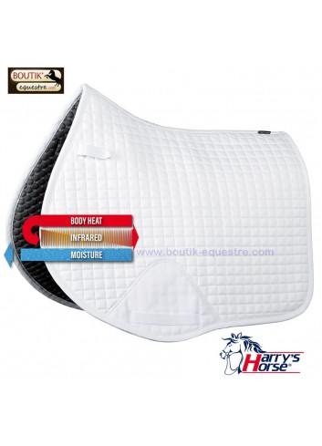 Tapis de selle Harry's Horse Exceed - blanc