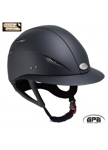 Casque GPA Little lady - noir