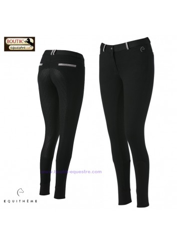 Pantalon EQUITHEME Glam Silicone - noir