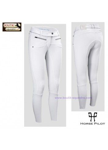 Pantalon Horse Pilot femme - blanc