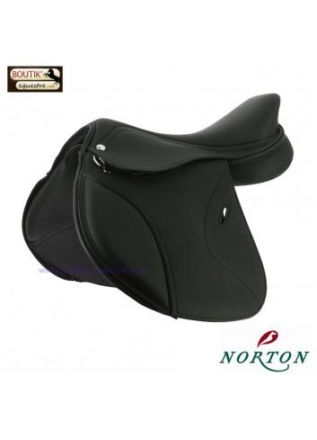 Selle NORTON PRO Poney - noir