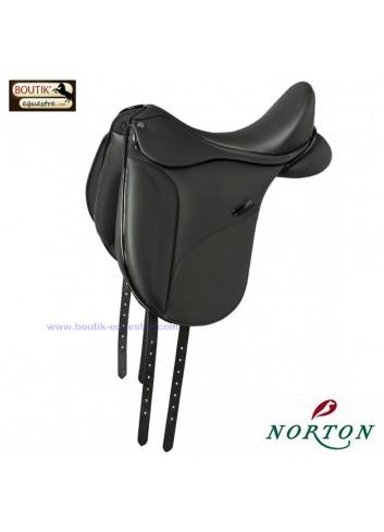 Selle NORTON PRO Dressage - noir