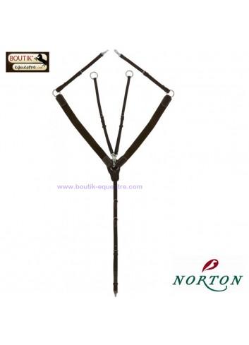 Collier de chasse NORTON Pro - noir