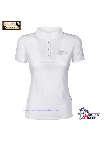 Chemise Harry's Horse Lace concours - blanc