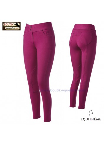 Pantalon EQUI THEME Pull On - fuschia