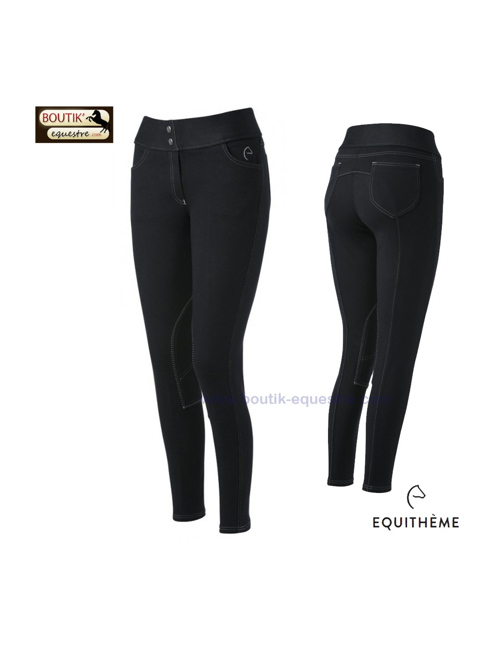 Pantalon EQUI THEME Pull On