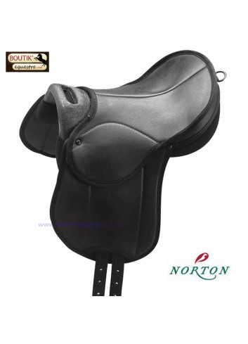 Selle Educative NORTON Rexine - noir