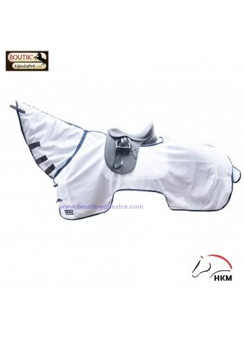 Chemise et couvre cou HKM pro - blanc