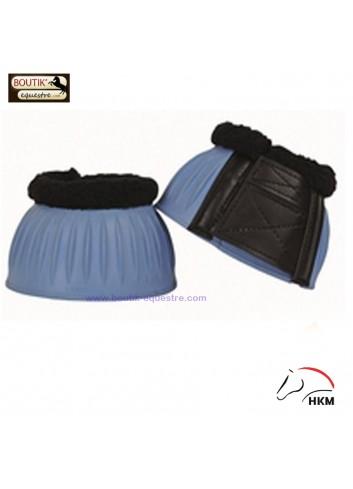 Cloches HKM caoutchouc - bleu ciel