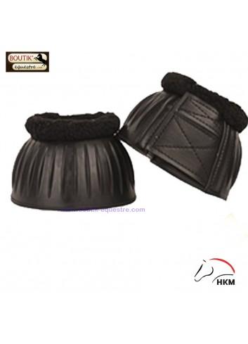 Cloches HKM caoutchouc - noir