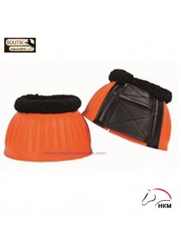 Cloches HKM caoutchouc - orange