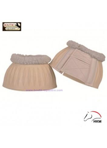 Cloches HKM caoutchouc - blanc