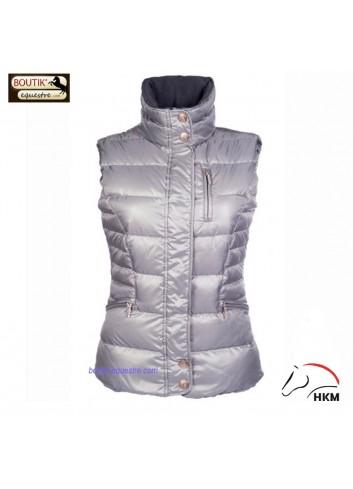Gilet HKM Siena - gris
