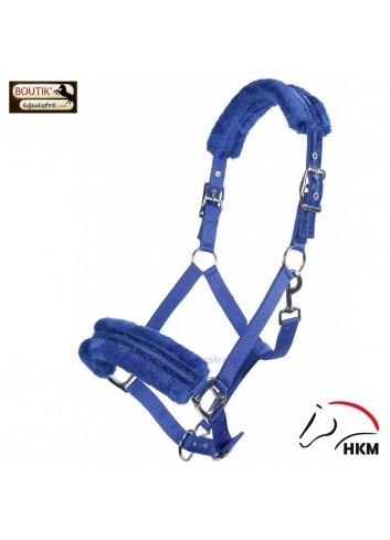 Licol HKM Glitter - bleu roi