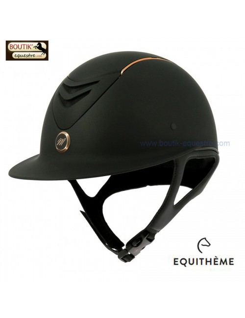 Casque  Equi theme Elegance Gold