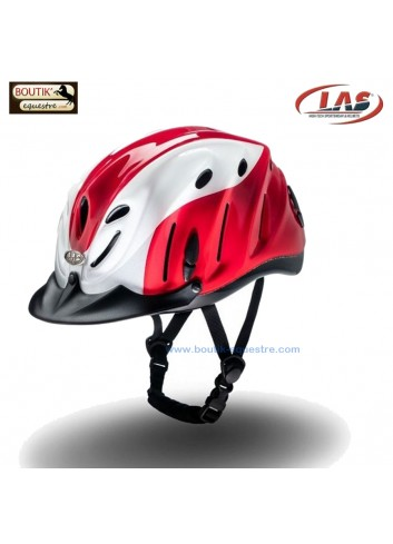 Casque LAS Anvil mix - gris / rouge