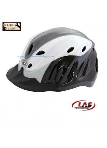 Casque LAS Anvil mix - noir blanc