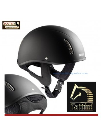 Casque TATTINI sans visiere - noir
