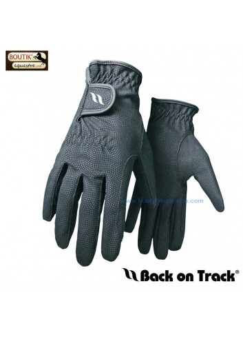 Gants Back On Track - noir