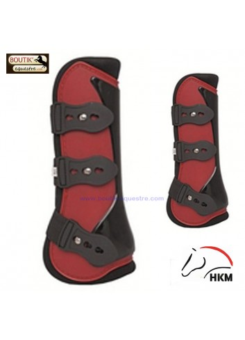 Pack Protection HKM New - rouge / noir