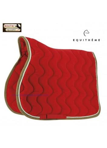Tapis de selle EQUI THEME Polyfun - rouge