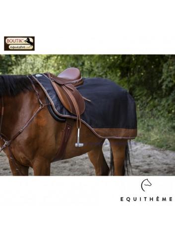 Couvre reins EQUITHEME TYREX 600D - gris / marron