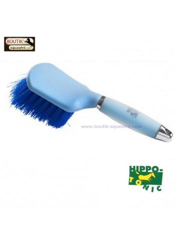 Brosse à sabots Hippo Tonic - bleu ciel