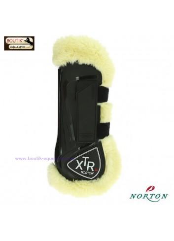 Guêtres NORTON XTR mouton synthétique - noir
