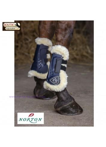 Guêtres NORTON XTR mouton synthétique - marine