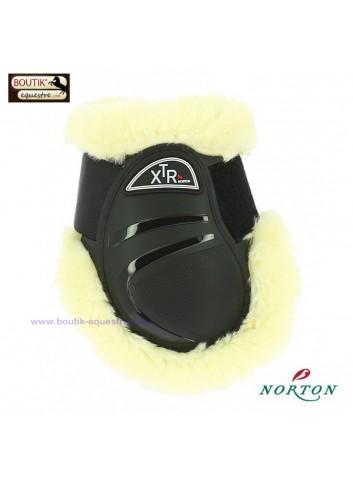 Protège-boulets NORTON XTR mouton synthétique - noir