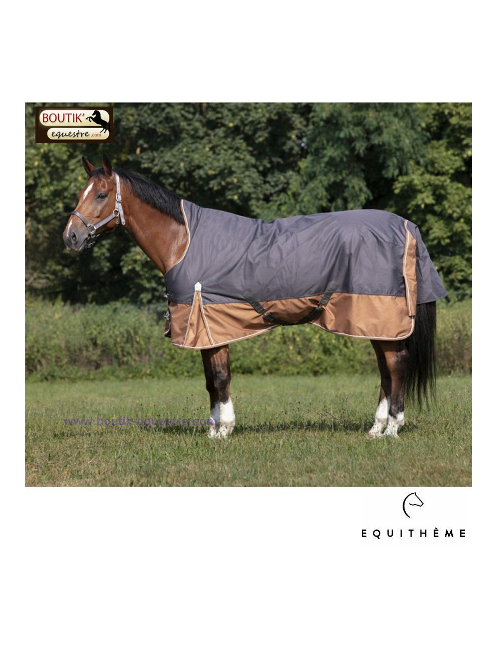 Couverture EQUITHEME High Neck 300gr