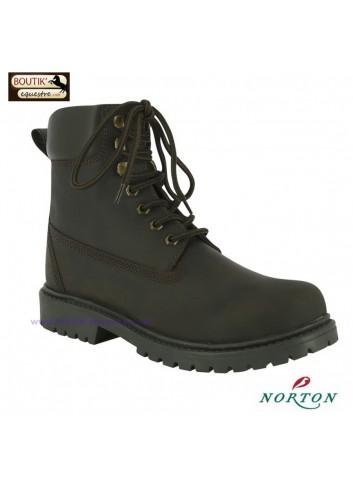 Boots NORTON Rider - brun