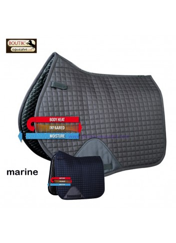Tapis de selle Harry's Horse Exceed - marine