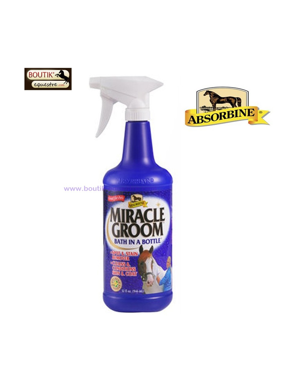 Miracle Groom Absorbine