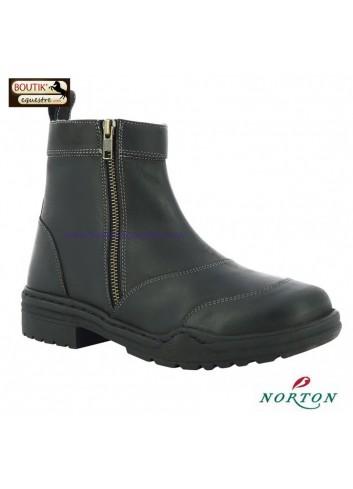 Boots Hiver NORTON Zipper - noir